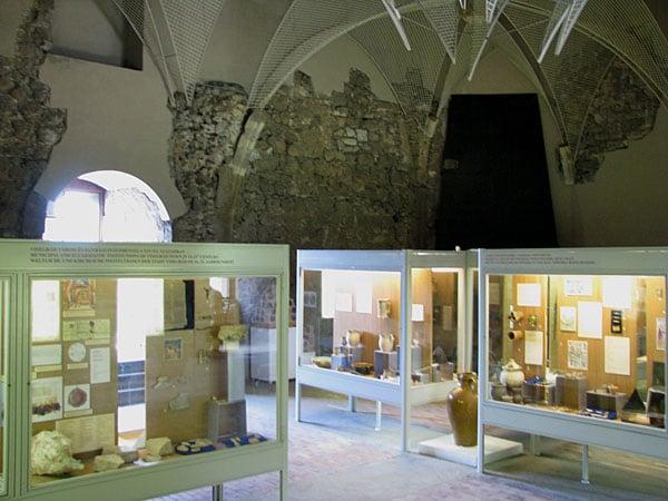 Часть экспозиции в башне Соломона, Вишеград / Фото из Венгрии