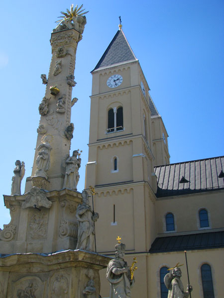 Перед собором Святого Михаила, Веспрем / Фото из Венгрии