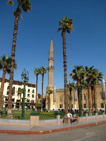 Площадь Хусейна в Каире / Фото из Египта
