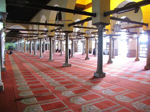 В мечети Аль-Азхар в Каире / Фото из Египта