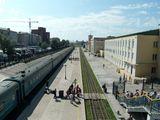 Вокзал в Забайкальске / Китай