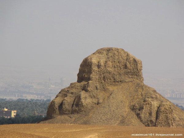 Пирамида Аменемхета III, Дахшур / Фото из Египта