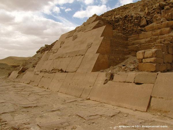 Пирамида Униса в Саккаре / Фото из Египта