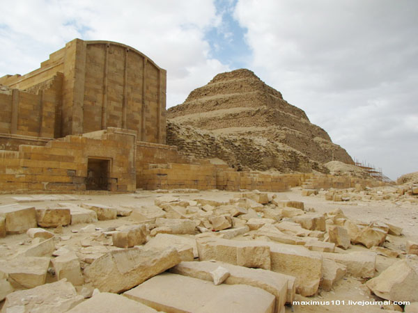 Некрополь в Саккаре / Фото из Египта
