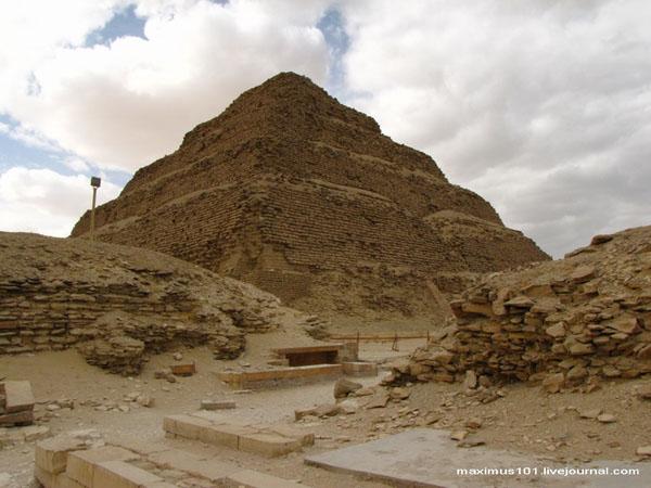 Пирамида фараона Джосера, Саккара / Фото из Египта