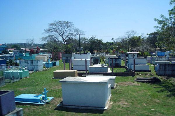 Необычное кладбище в Белизе / Фото из Мексики