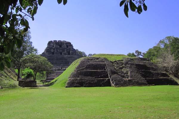 Пирамиды майя в Белизе / Фото из Мексики