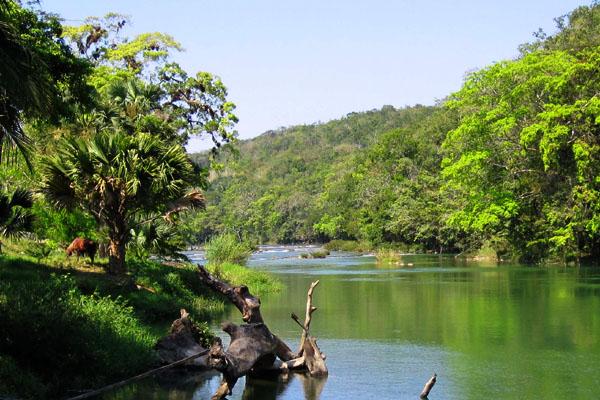 Пейзажи Белиза / Фото из Мексики