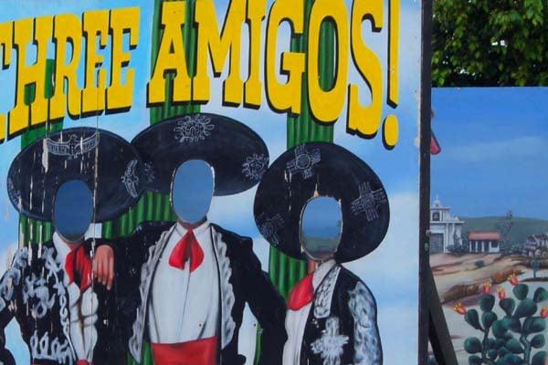 """Три друга"" на острове Косумель / Фото из Мексики"