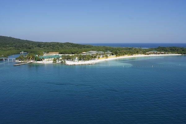 Вид на остров Роатан / Фото из Мексики