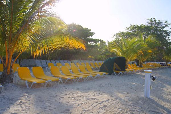 Пляж на острове Роатан / Фото из Мексики