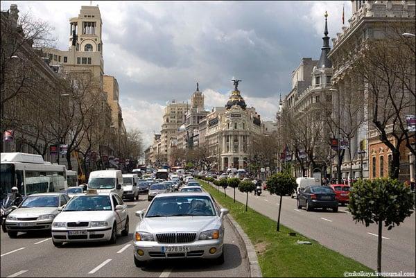 Проспект Каррера в Мадриде / Фото из Испании