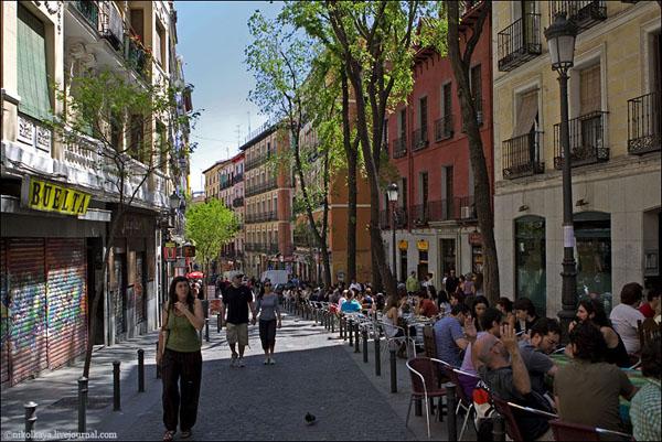 Мадрид - один из интереснейших городов Испании / Фото из Испании