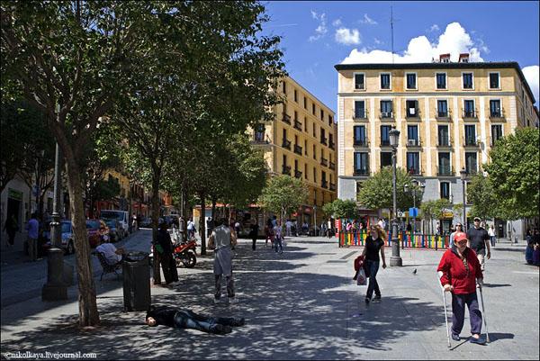 В кварталах к югу от площади Пуэрта-дель-Сол, Мадрид / Фото из Испании