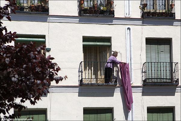 Будни Мадрида / Фото из Испании