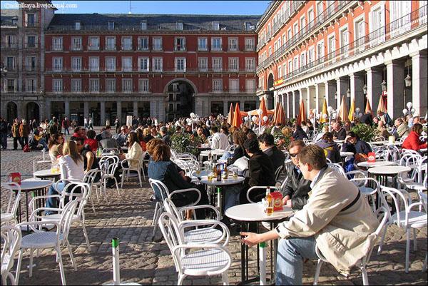 Пласа-Майор в Мадриде / Фото из Испании