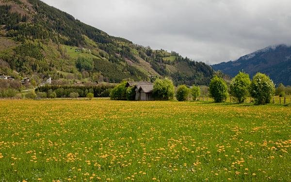 Весна в австрийских альпах фото из