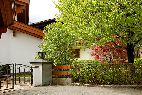 Обыкновенный австрийский дворик, Капрун / Фото из Австрии