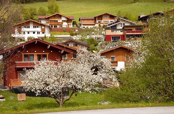 Ферт - типичный городок австрийских Альп / Фото из Австрии