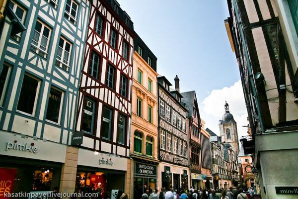 Центральная улица Руана / Фото из Франции