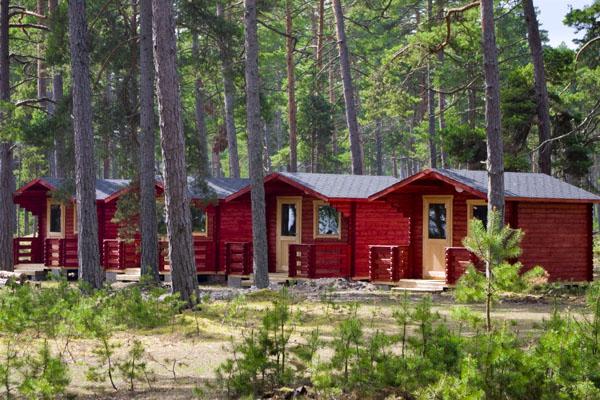 На Кихну можно остановиться в кемпингах, гостевых домах и хуторах / Фото из Эстонии