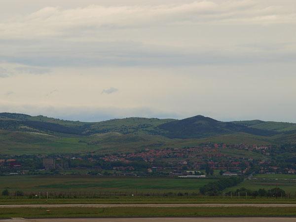 Пейзаж у аэропорта Варны / Фото из Болгарии