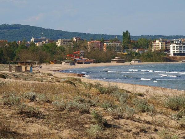 Побережье курорта Приморско / Фото из Болгарии