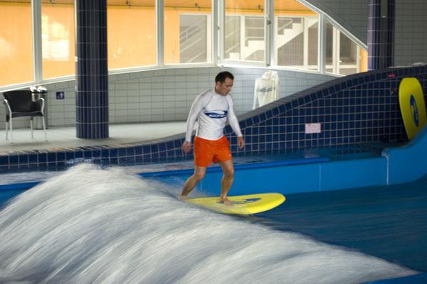Серфинг в Хайдусобосло - почти по-настоящему / Фото из Венгрии