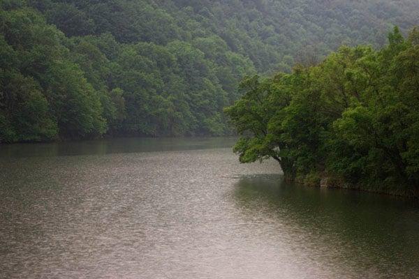 На берегу озера Хамори, Лиллафюред / Фото из Венгрии