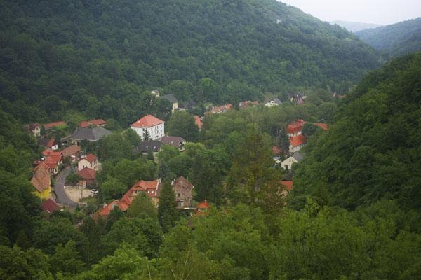 Живописная горная деревушка Лиллафюред / Фото из Венгрии