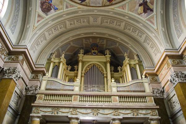 Старинный орган в базилике, Эгер / Фото из Венгрии