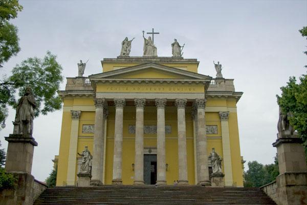 Базилика XIX века в Эгере / Фото из Венгрии