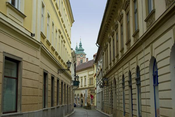 Старинные улочки Эгера / Фото из Венгрии