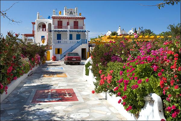 Очаровательный домик на Миконосе - очень дорогое удовольствие / Фото из Греции