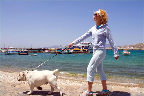Греческий остров Миконос - популярный светский курорт / Фото из Греции