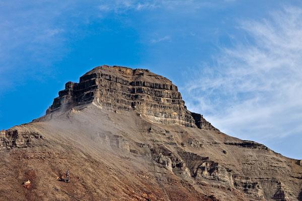 Гора Пирамида, Шпицберген / Фото со Шпицбергена