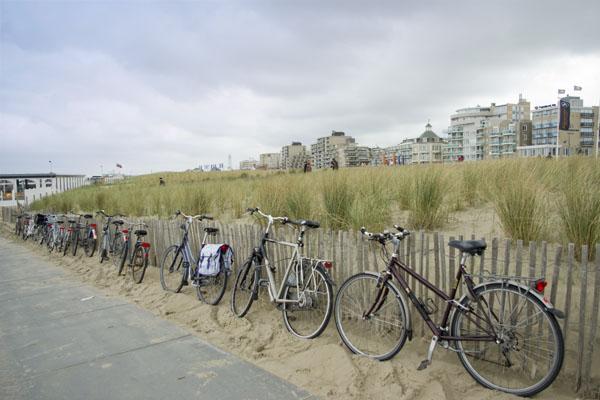 На подъезде к пляжу, Нордвейк-ан-Зе / Фото из Нидерландов
