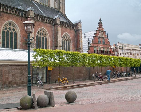 В центре Харлема / Фото из Нидерландов