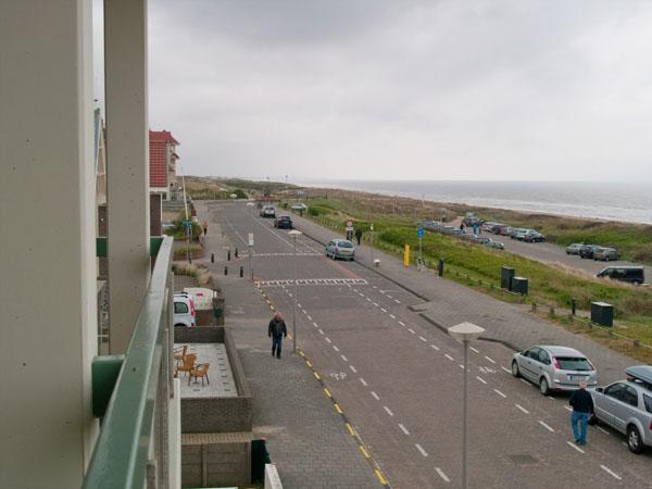 Вид из апартаментов Strandhuis, Нордвейк / Фото из Нидерландов