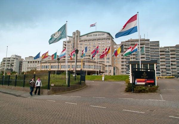 Huis Ter Duin - самый дорогой отель Нордвейк-ан-Зе / Фото из Нидерландов