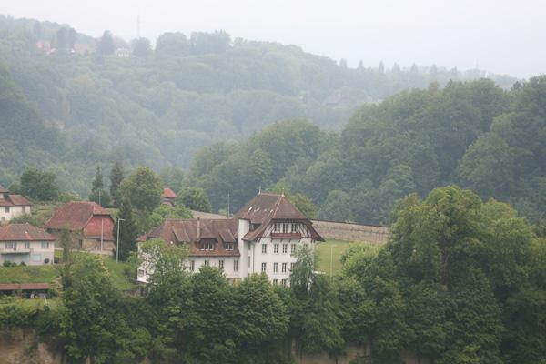 Дождливый Фрибур / Фото из Швейцарии