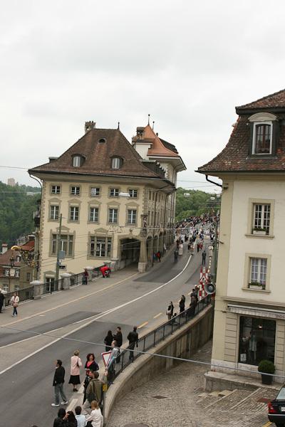 Начало процессии Корпус Кристи / Фото из Швейцарии