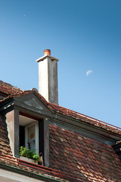 Крыши и окна / Фото из Швейцарии