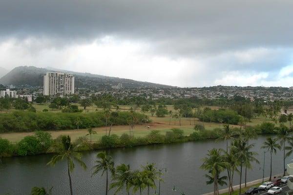 """Ураган """"Фелиция"""" отступает, остров Оаху / Фото из США"""