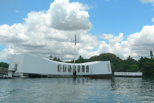 "Мемориал линкора ""Аризона"", остров Оаху / Фото из США"