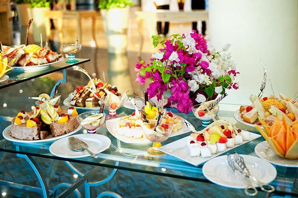 Десерты в ресторане Starplex