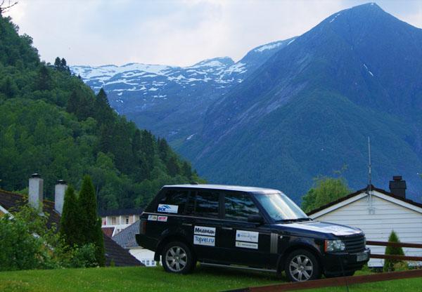 Последние кадры из автопробега по Скандинавии  / Фото из Норвегии