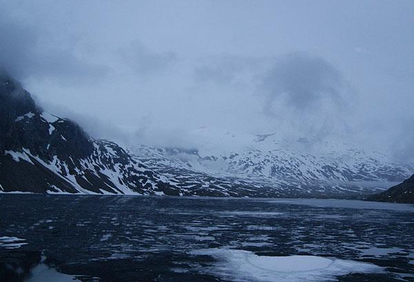 Заснеженный путь в Осло / Фото из Норвегии