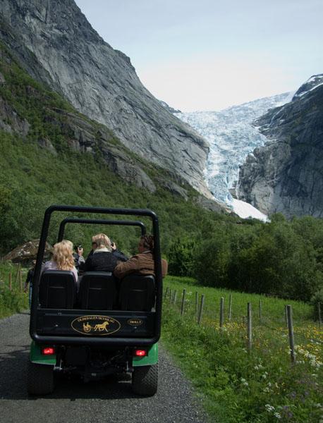 Дорога к леднику Бригсдалс, Норвегия / Фото из Норвегии