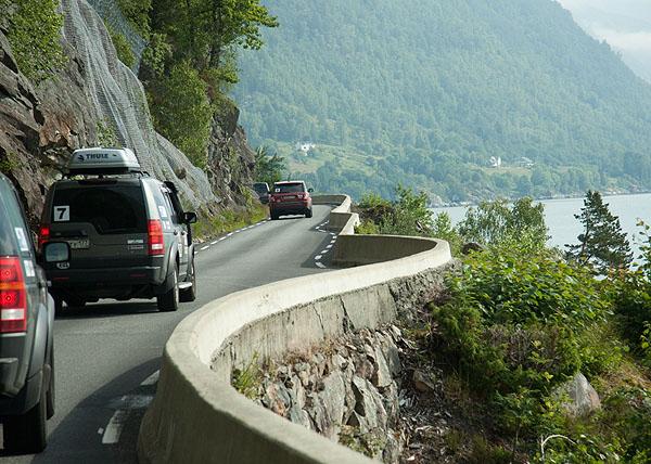 Горные дороги на пути из Швеции в Норвегию / Фото из Норвегии